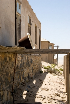 Ghost Town in Namibia