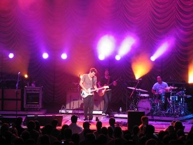 John Mayer in concert