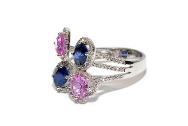 fancy color diamond rings
