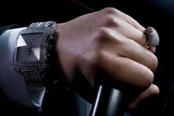 Bling Diamond Wristwatch
