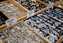 Antique Jewelry Stall