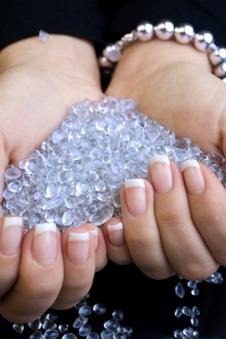 Diamonds and wealth
