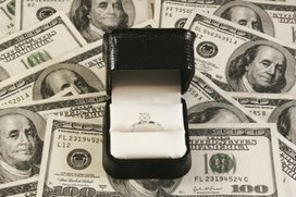 Engagement Ring on 100